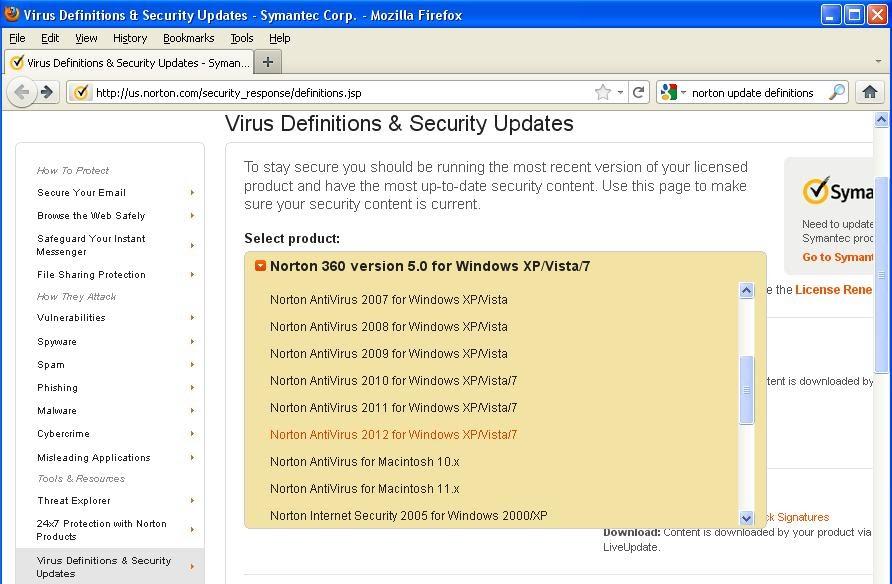 Antivirus won t update - January - Forums