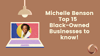 Get To Know Michelle Benson Top 15 Black-Owned Businesses That She Supports, MN