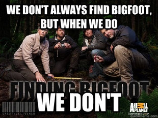Is Finding Bigfoot Real
