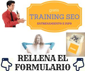 Factores SEO en el entrenamiento gratis de blog seo web