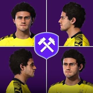 PES 2020 Faces Mahmoud Dahoud by Volun
