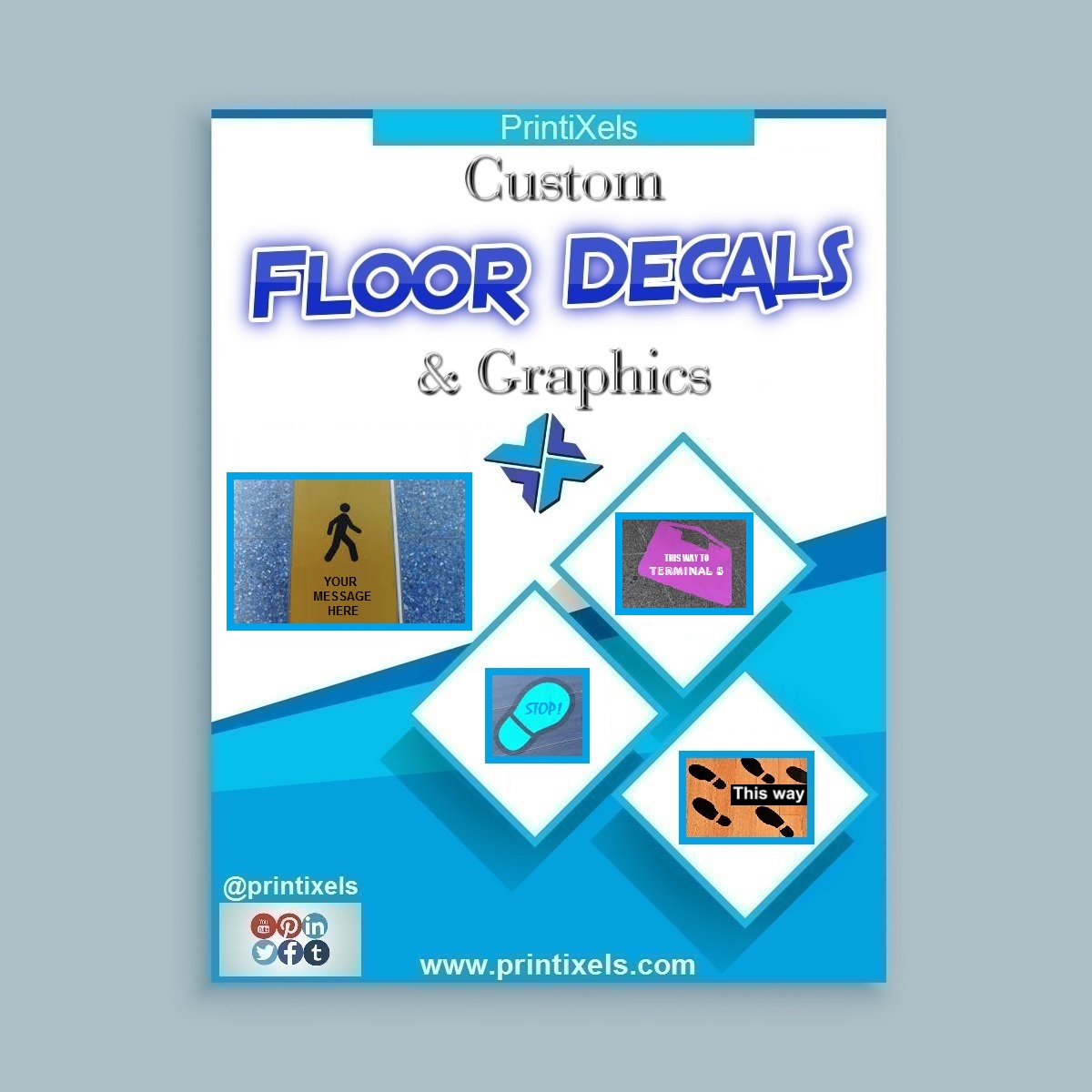 Custom Floor Decals & Graphics