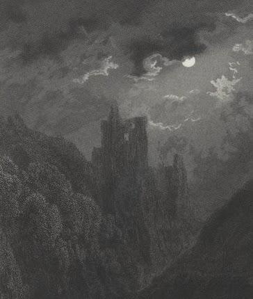 Le trait noir de Gustave Doré rend ses paysages mystérieux