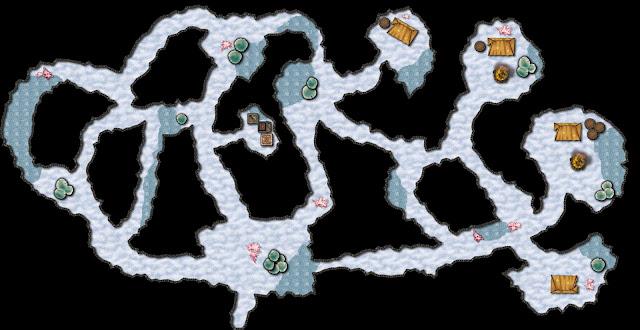 Aventura de Navidad para Dungeons & Dragons - La Frontera del Invierno (3ª Parte) - Las Fauces