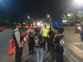Usai Tarawih, Tim UKL 02 Sisir Kota Sungguminasa Dengan Cara Patroli Mobile