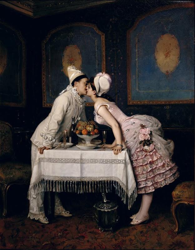 Resultado de imagen para the kiss painting
