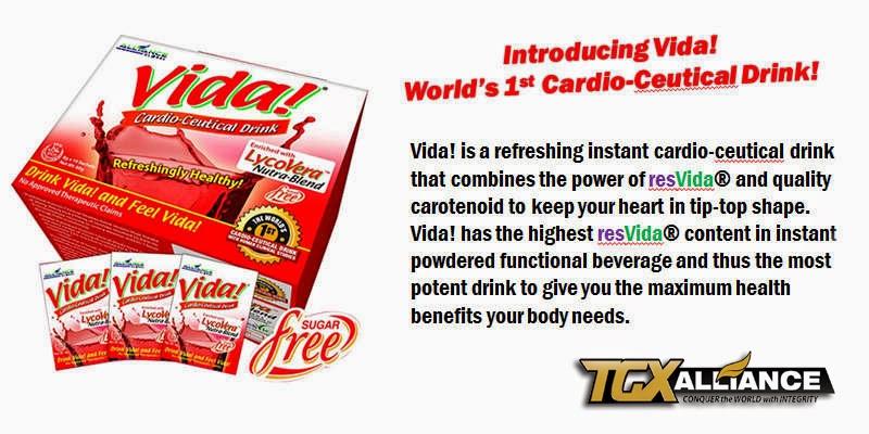 Alliance in Motion Global: VIDA Cardio-Ceutical Drink