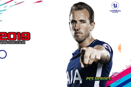 PATCH PES 2019 MOBILE V3.3.1 TOTTENHAM HOTSPUR By PES HEROES