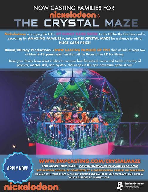 The Crystal Maze Fan Group Blog: June 2019