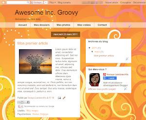 Awesome Inc. Groovy Theme