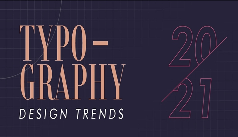 Typography Design Trends 2021 #infographic