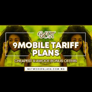 9mobile tariff plans codes