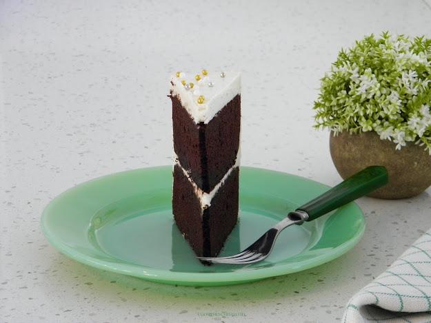 Vintage Green Bakelite Fork