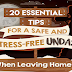 20 Essential Tips for a Safe and Stress-free Undas #infographic