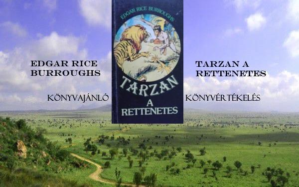 Tarzan a rettenetes könyvajánló, könyvértékelés