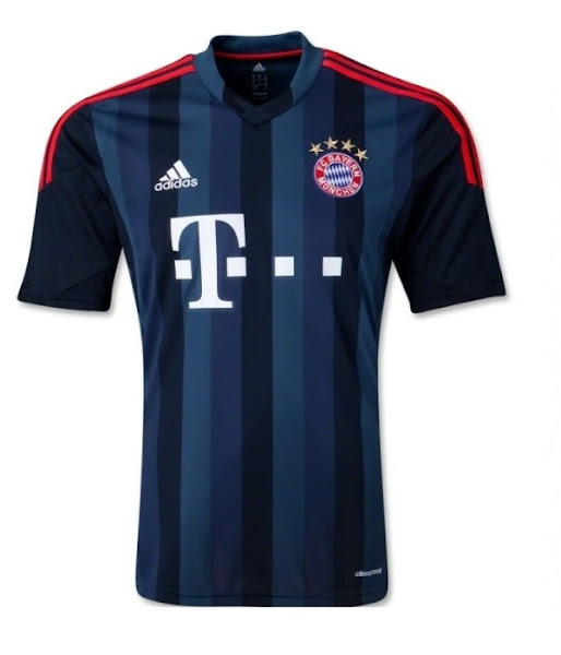 newest 50e37 d4bbd Bayern München 13-14 Adidas Third UEFA Champions ...