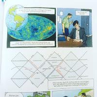 Comic Physik Forscher schwarzes Loch ALS Bestseller Buchtipp Unterhaltung
