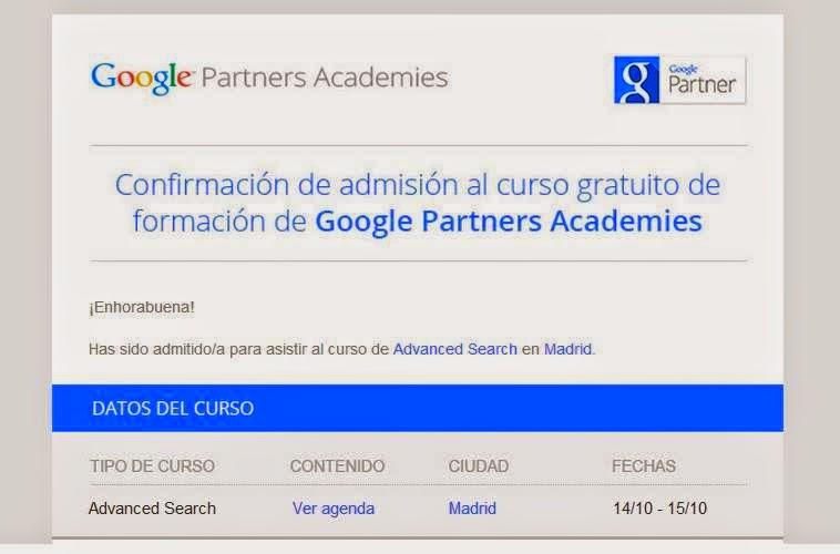 Jaime Jalón Google Partners Academies en Madrid