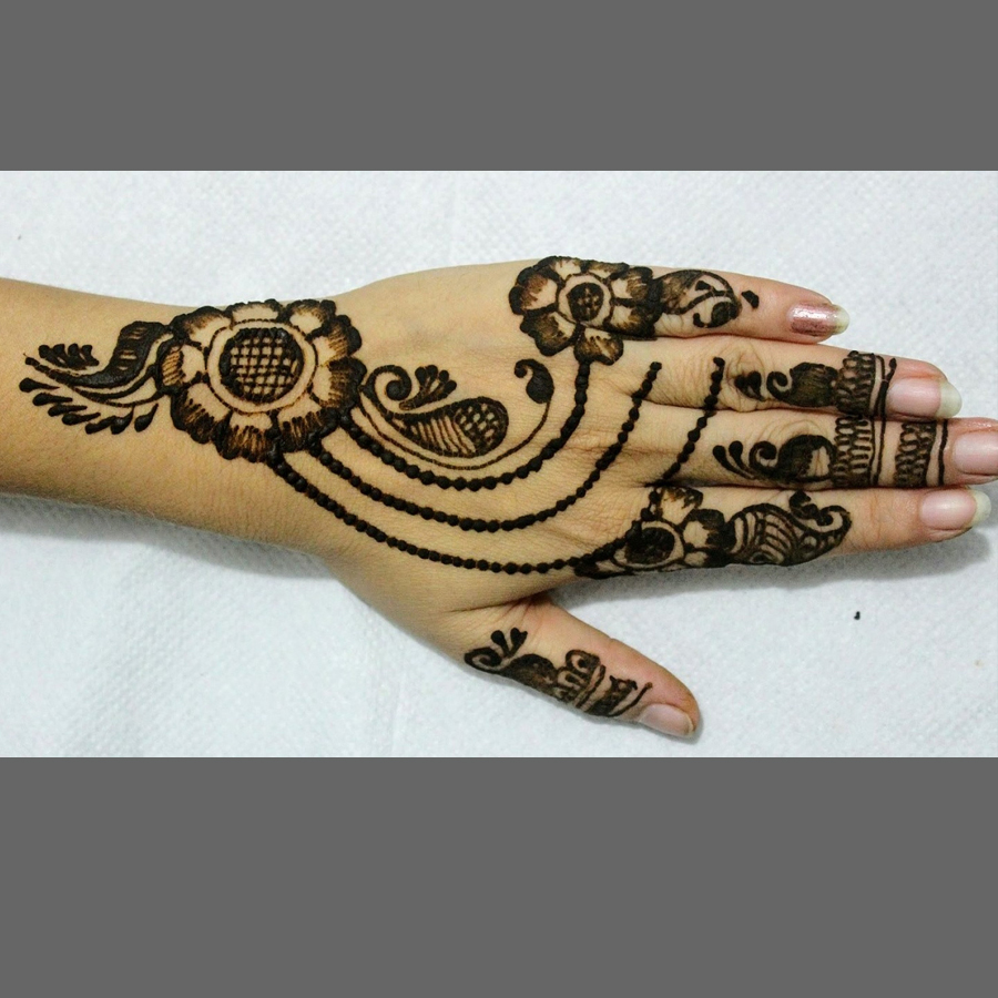 Easy Mehndi Designs For Hands