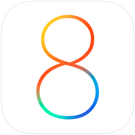 iOS 8 Beta Logo