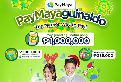 Give back and win big every time you pay with PayMaya!