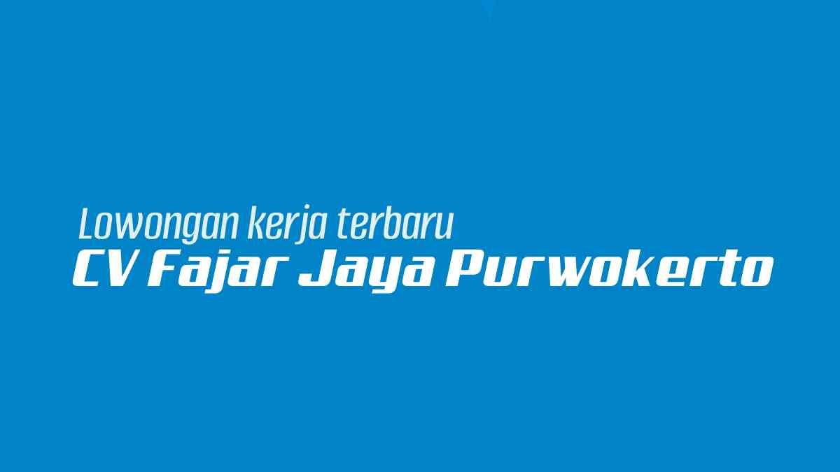 CV Fajar Jaya