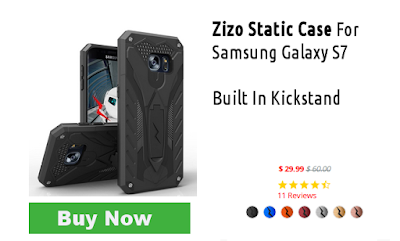 Zizo Static Case For Samsung Galaxy S7