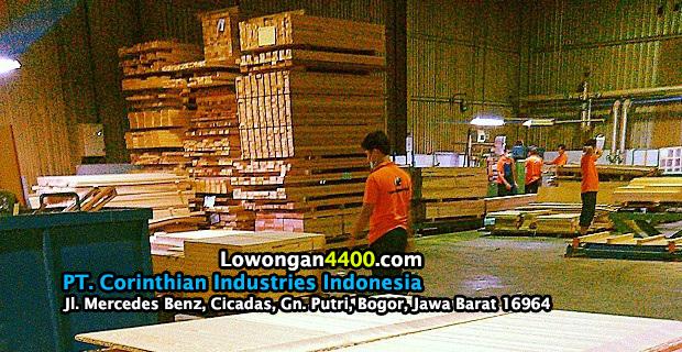 Lowongan Kerja PT. Corinthian Industries Indonesia Bogor