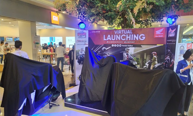 Honda Kalbar Gelar Virtual Launching untuk Penyegaran Honda Vario Series