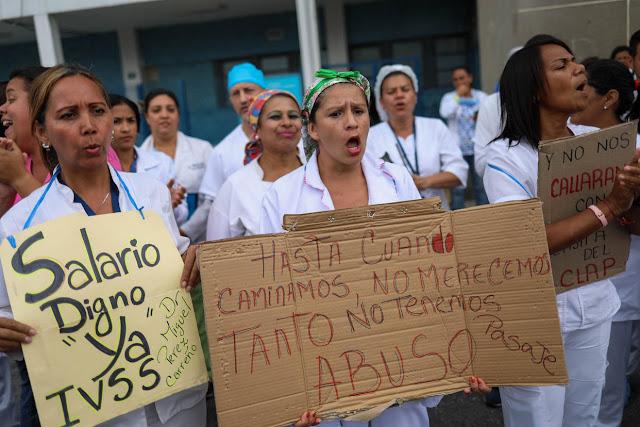 Conflicto de trabajadores de la salud sigue sin solución a la vista