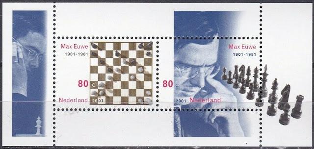 Netherlands 2001 Chess Max Euwe Sheet