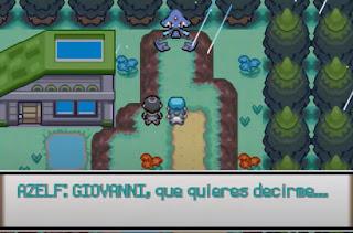 Pokemon Mystical para GBA Evento Azelf Pokemon Legendario