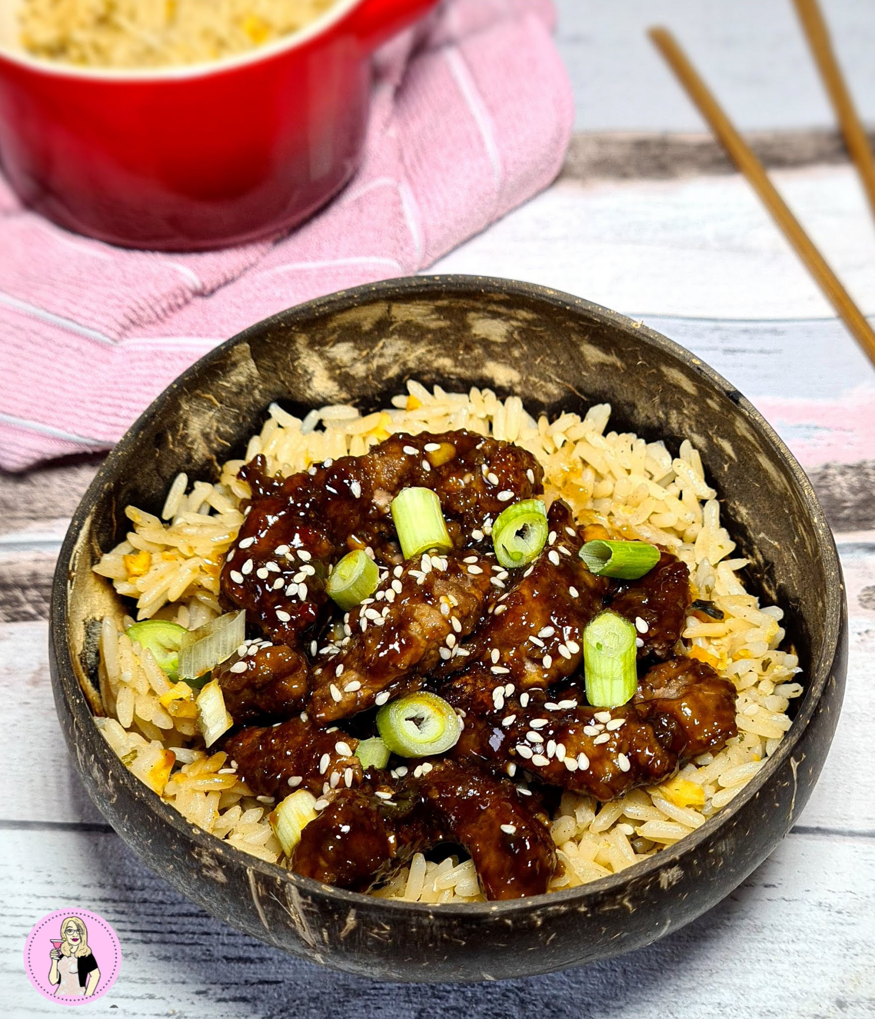 Mongolian Beef Recipe | Lower Calorie Slimming