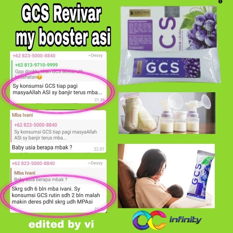 GCS revivar Sangat Bagus Untuk Booster ASI