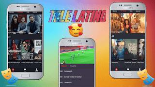 تمهل لثواني وجرب ملك التطبيقات اللاتينية لمشاهدة القنوات اللاتينية المنعدمة و قنوات عربية مجانا Tele Latino