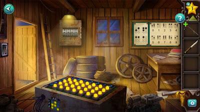 появилось освещение в комнате после решения головоломки