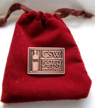 Society of Wine Educators' Certified Specialist of Wine pin