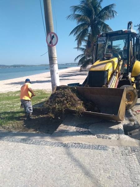 Prefeitura de São Pedro da Aldeia realiza serviços em mais 4 bairros