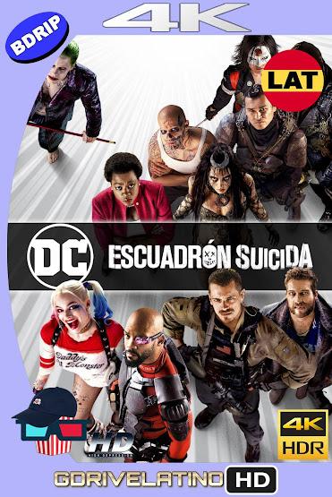 Escuadrón Suicida (2016) THEATRICAL BDRip 4K HDR Latino-Ingles MKV