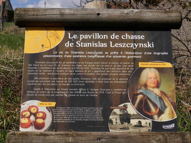 FRIZON (88) - Pavillon de chasse de Stanislas