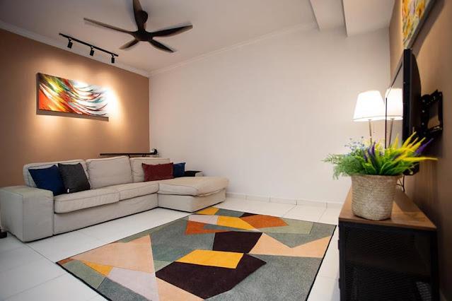 Ruang tamu Guest House/Homestay 7 Bintang