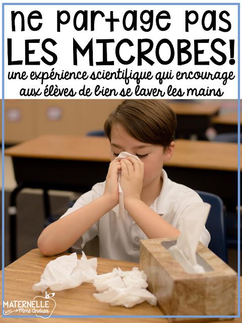 Kindergarten students are definitely known for their germs! Teach your students to wash their hands with SOAP with this fun, unforgettable science experiment! | Enseigner aux élèves de se laver les mains avec du savon avec cette activité amusante et inoubliable!