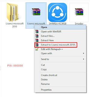 Cara Aktivasi Microsoft Office 2010 Tanpa Product Key (100% Permanen)