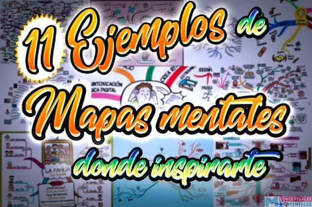 Ejemplos de Mapas mentales para inspirarte