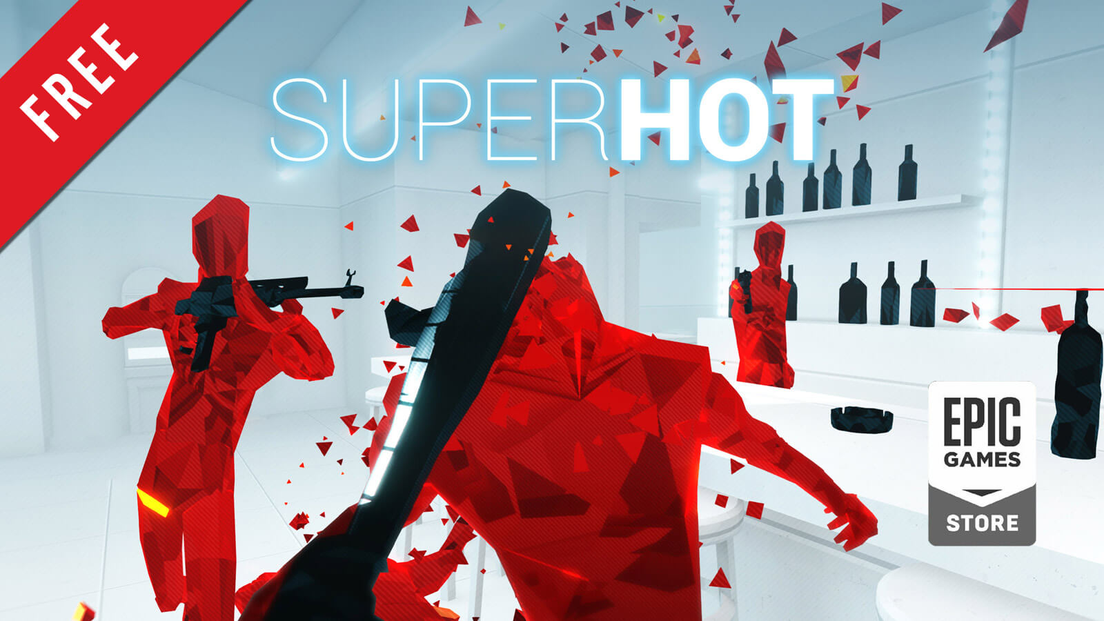 Superhot Free on Epic Games Store Now - Gameslaught
