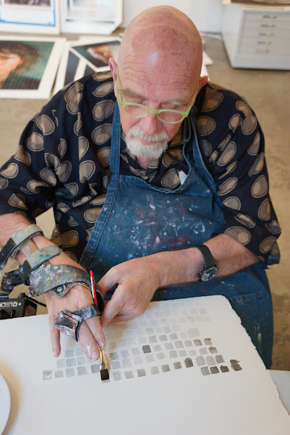 Magnolia Editions Chuck Close Problems & Process