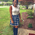 "AREN'T YOU GLAD ERICA FRANCIS PAIRED PLAID WITH OVER THE KNEE BOOTS IN HER STUNNING EARLY ENTRY IN THE ""LOOK OF THE YEAR"" CONTEST?"