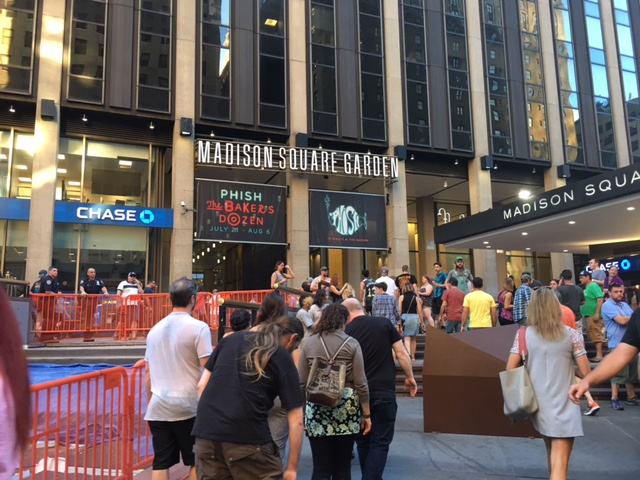 The universe is a donut a first time phish experience for Phish madison square garden tickets
