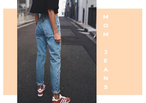 Como usar a calça Mom Jeans