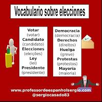 Vocabulário em espanhol: política e democracia, Espanhol, Vocabulário, Curso de Espanhol, Aprender Espanhol Youtube, Dicas de espanhol, Espanhol básico, Espanhol Intermediário